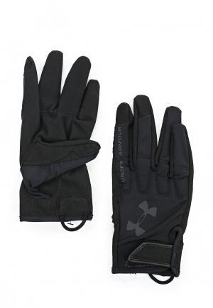 Перчатки для фитнеса Under Armour UN001DMTVR27. Цвет: черный