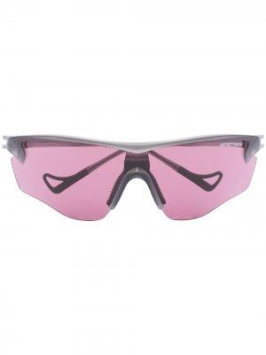 Солнцезащитные очки Junya Racer District Vision. Цвет: черный