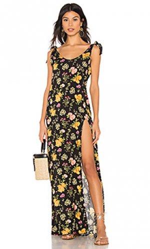 Платье lily Beach Bunny. Цвет: черный