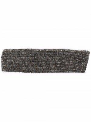 Широкая повязка на голову Eugenia Kim. Цвет: серый