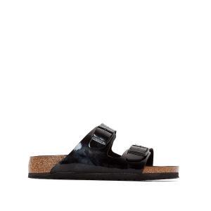 Туфли без задника ARIZONA BIRKENSTOCK. Цвет: черный лак