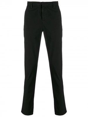 Классические брюки чинос Dondup. Цвет: черный