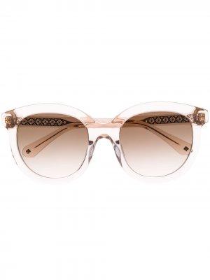 Солнцезащитные очки Lillian в круглой оправе Kate Spade. Цвет: нейтральные цвета