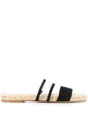 Сандалии на плетеной подошве Solange Sandals