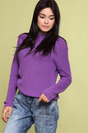 Пуловер Pezzo. Цвет: фиолетовый