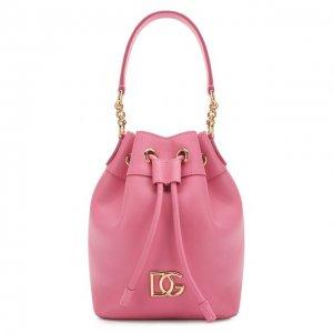 Сумка Millennials Dolce & Gabbana. Цвет: розовый