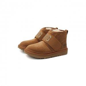 Ботинки Neumel II Graphic UGG. Цвет: коричневый