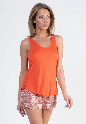Комплект Catherine's. Цвет: оранжевый