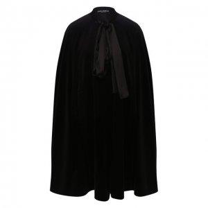 Накидка Dolce & Gabbana. Цвет: чёрный