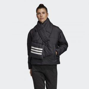 Утепленная куртка-бомбер Big Baffle Performance adidas. Цвет: черный