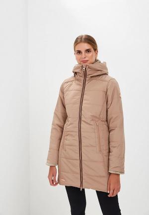 Куртка утепленная Regatta Pernella. Цвет: бежевый