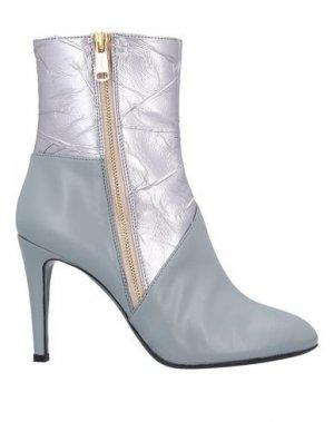 Полусапоги и высокие ботинки VIONNET. Цвет: светло-серый