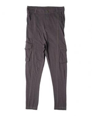 Повседневные брюки I DIG DENIM. Цвет: свинцово-серый