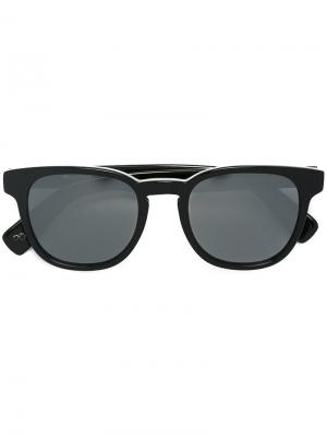 Солнцезащитные очки Hadrian Paul Smith. Цвет: чёрный