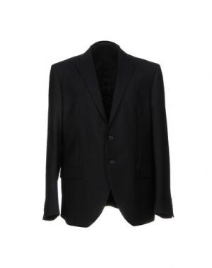 Пиджак BRIAN HAMILTON. Цвет: темно-синий