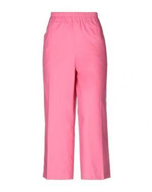 Повседневные брюки I'M ISOLA MARRAS. Цвет: фуксия