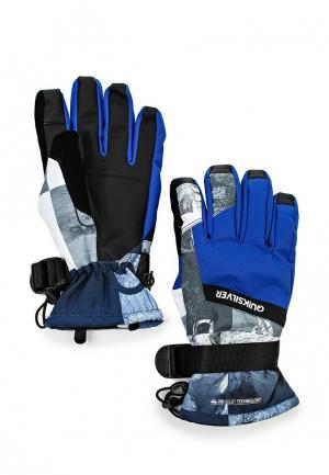 Перчатки Quiksilver Mission Glove. Цвет: разноцветный