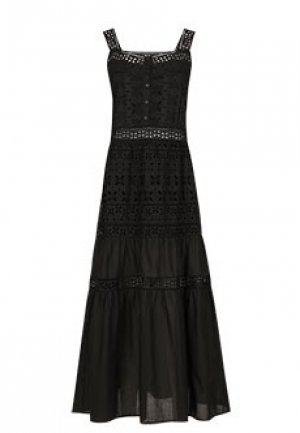 Платье ERMANNO SCERVINO. Цвет: черный
