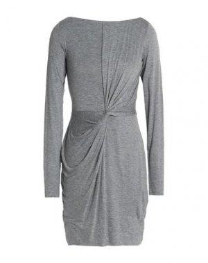 Короткое платье BAILEY 44. Цвет: светло-серый