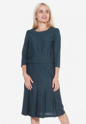 Платье Artwizard. Цвет: бирюзовый