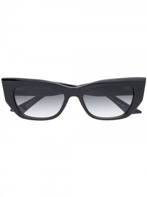 Солнцезащитные очки с градиентными линзами Dita Eyewear. Цвет: черный
