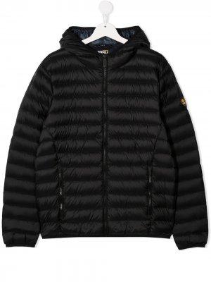 Куртка-пуховик на молнии Ciesse Piumini Junior. Цвет: синий