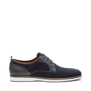 Ботинки-дерби LaRedoute. Цвет: синий