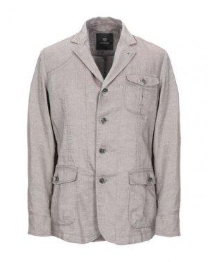 Пиджак MABRUN. Цвет: светло-серый