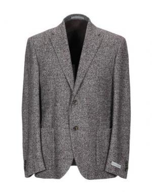 Пиджак NINO DANIELI. Цвет: красно-коричневый