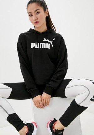 Худи PUMA ESS+ Metallic Hoody TR. Цвет: черный