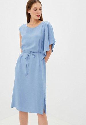 Платье EMI. Цвет: голубой