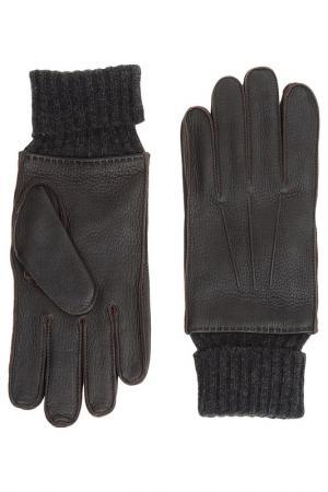 Перчатки Sermoneta Gloves. Цвет: серый