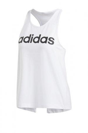 Майка D2M LOGO TANK adidas. Цвет: белый