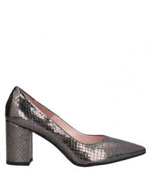 Туфли ANNA F.. Цвет: стальной серый