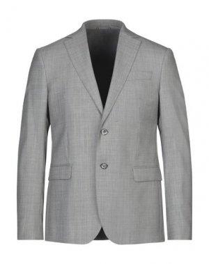 Пиджак RODA. Цвет: серый