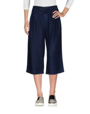 Джинсовые брюки-капри TOMMY HILFIGER. Цвет: синий
