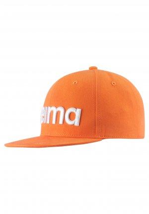 Кепка Hossa Оранжевая Reima. Цвет: оранжевый