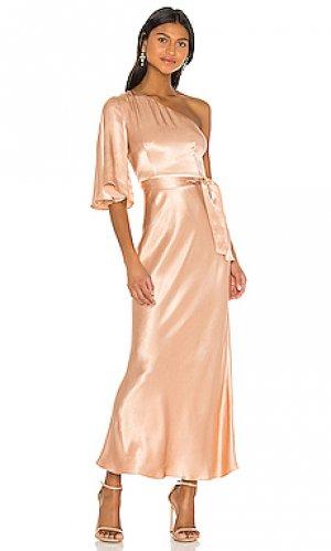 Платье bias Shona Joy. Цвет: розовый