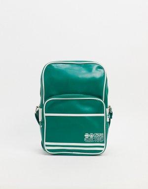 Дорожная сумка -Зеленый цвет Crosshatch