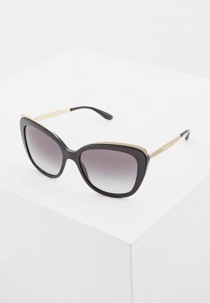 Очки солнцезащитные Dolce&Gabbana DG4332 501/8G. Цвет: черный