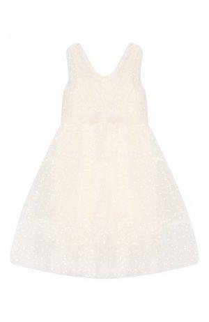 Платье Aletta. Цвет: бежевый
