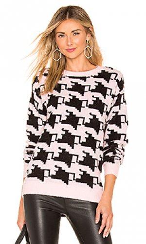 Пуловер basset Lovers + Friends. Цвет: розовый