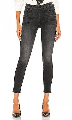 Скинни barbara Hudson Jeans. Цвет: черный