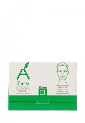 Салфетки матирующие Almea Oil-control paper. для лица