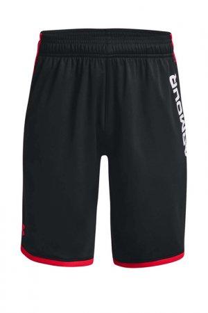 Шорты Ua Stunt 3.0 Prtd Shorts Under Armour. Цвет: черный