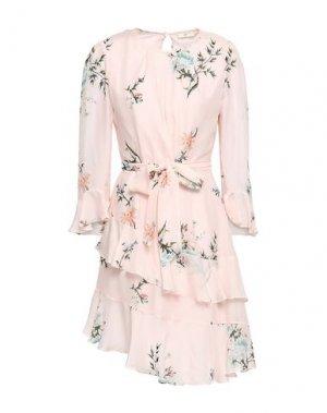 Короткое платье JOIE. Цвет: светло-розовый