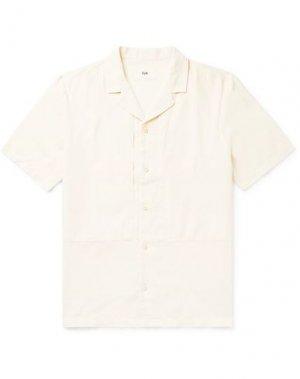 Pубашка FOLK. Цвет: слоновая кость