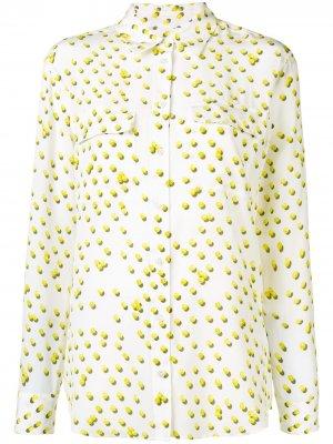 Рубашка с принтом теннисных мячей Equipment. Цвет: белый