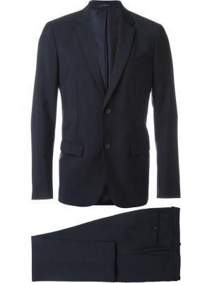Костюм с нагрудным карманом Jil Sander. Цвет: синий