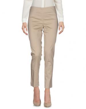 Повседневные брюки EDAS. Цвет: бежевый